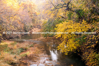 Fall along the Clear Fork of the Trinity River in Fort Worth, Texas.