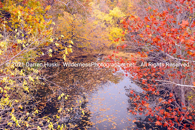 Fall along the Clear Fork.  Clear Fork of the Trinity River in Fort Worth, Texas.