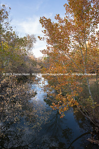 Clear Fork of the Trinity in Autumn
