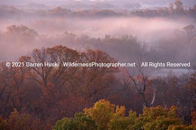 Foggy Fall on the Trinity
