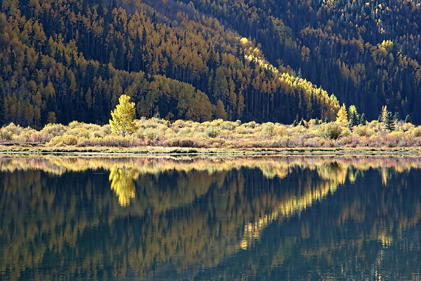 Crystal Lake, Ouray, CO.