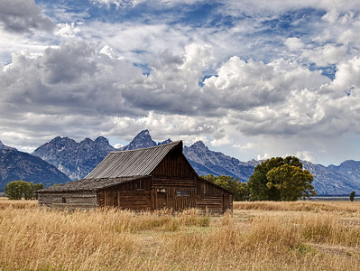 Barn on Mormon Row, Grand Teton National Park, WY.
