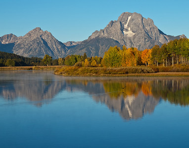 Oxbow Bend, Grand Teton National Park, WY.