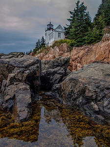 Bass Harbor Head Lighthouse, Acadia National Park, ME.