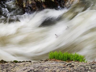 Snow melt, Rocky Mountain National Park.