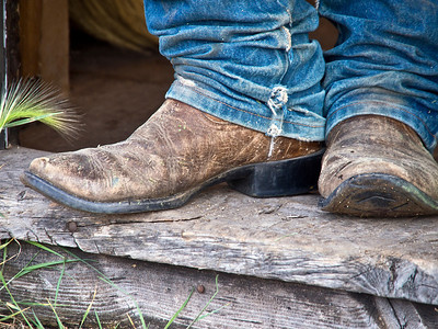 Cowboy Boots, Triangle X Ranch, WY.