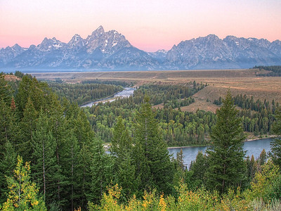 Snake River Overlook, Grand Tetons, WY.