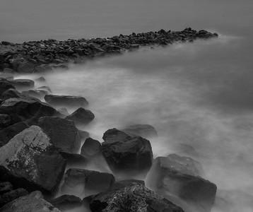 Mobile Bay breakwater