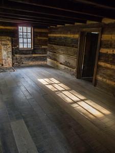 """Morning light"", Carter Shields Cabin, Great Smoky Mountains, TN."