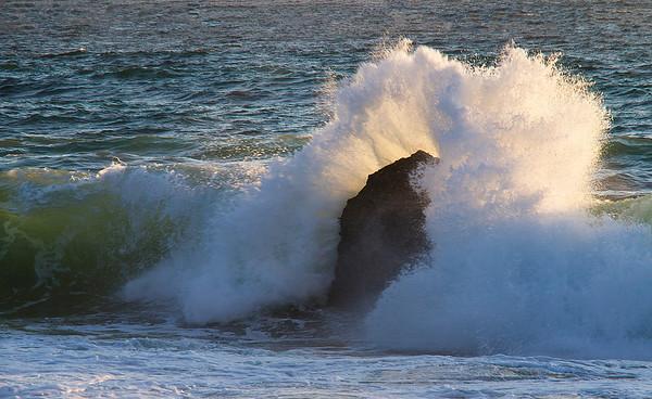 Garrapata Beach, Hwy 1, CA.