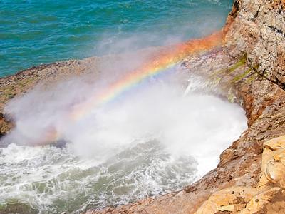 Ano Nuevo State Reserve Rainbow