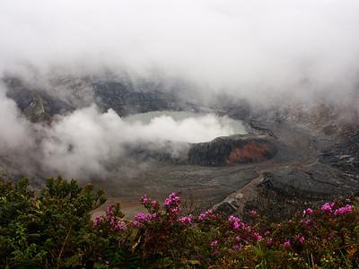 Poaz Volcano, Costa Rica.