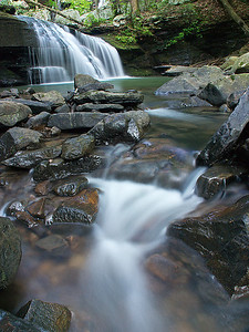 Falls in Sittons Gulch, Cloudland Canyon, GA