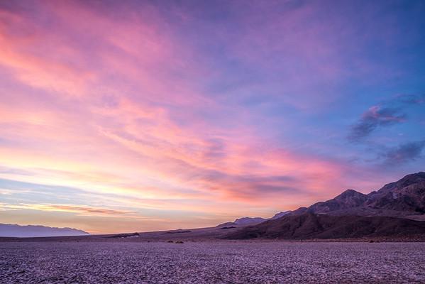 Pre-dawn Devil's Cornfield, Death Valley N.P.