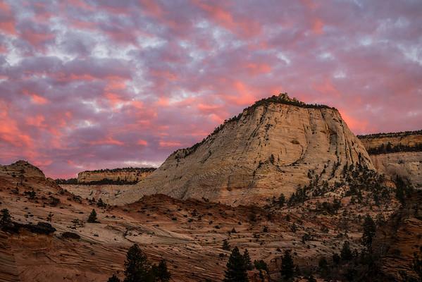 Zion N.P. Sunset