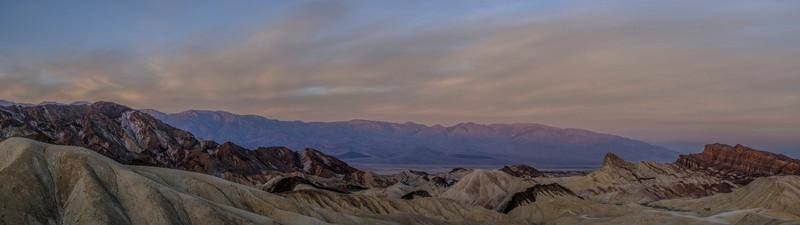 Zabriskie Point Panorama, Death Valley, CA