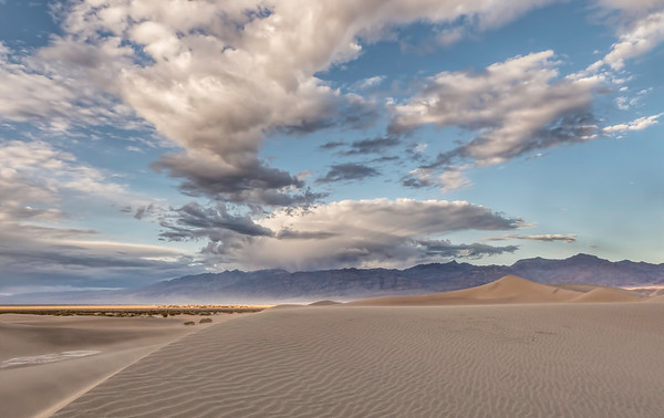 Mesquite Sand Dunes, Death Valley, CA.