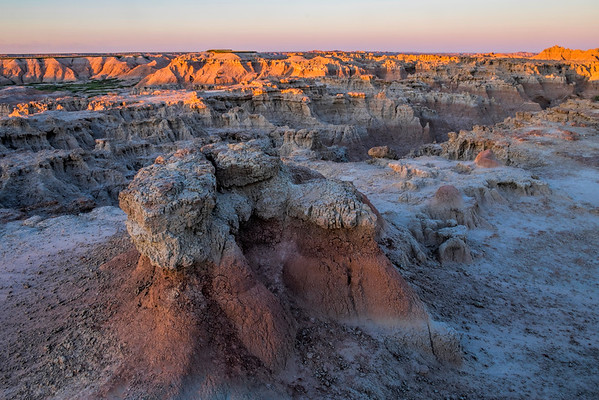Door Trail Sunset, Badlands National Park