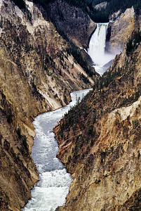 Lower Falls, Yellowstone National Park, WY.