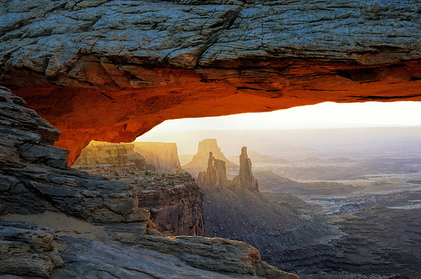 Mesa Arch, Canyonlands National Park, UT.