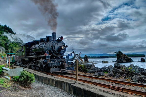 Oregon Scenic Railroad, Tillamook, Oregon.