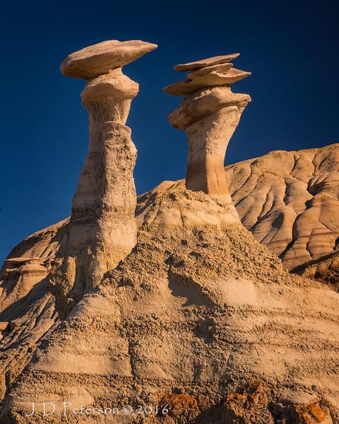 Twins, Bisti Badlands, New Mexico