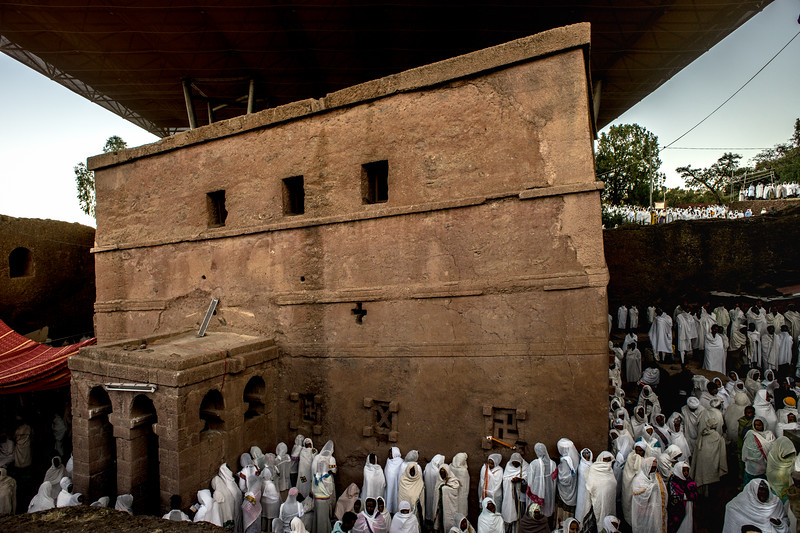 Lalibela : St Mary Day dawn mass