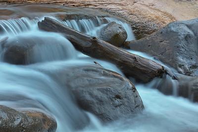 Slide Rock, Flowing Water