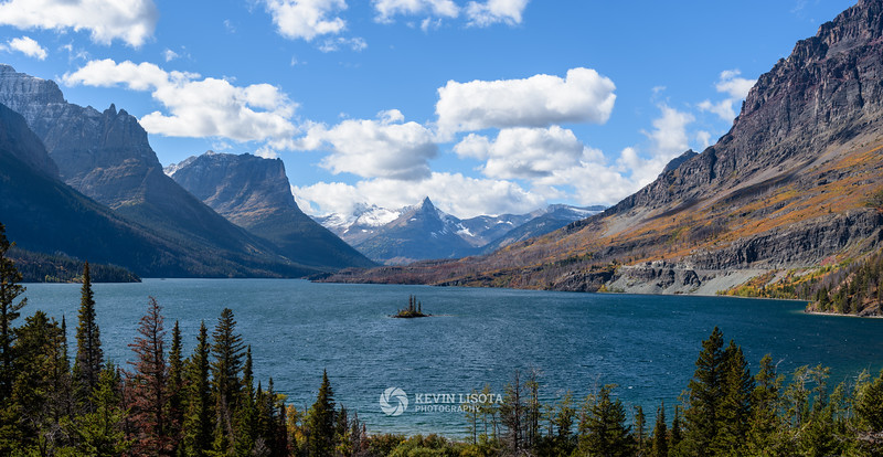 Wild Goose Island & Saint Mary Lake