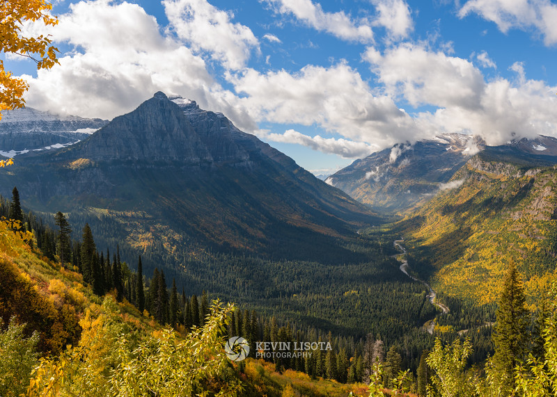 Mt. Oberlin & Heavens Peak in Glacier National Park