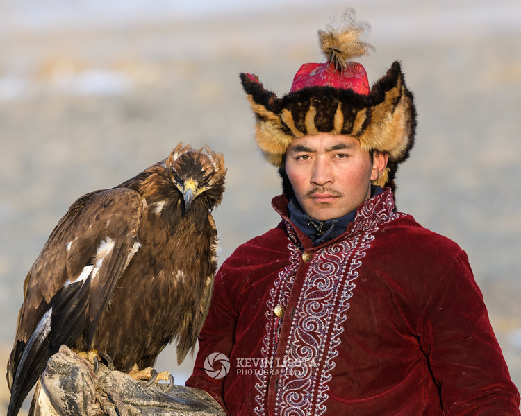 Mobay and his golden eagle