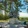 Lumberman's Monument, River Road, West of Oscoda