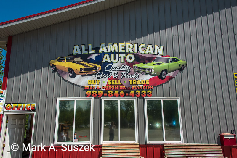 All American Auto just outside of Standish.<br /> They repaired our van, got us back on the road in 2 hours