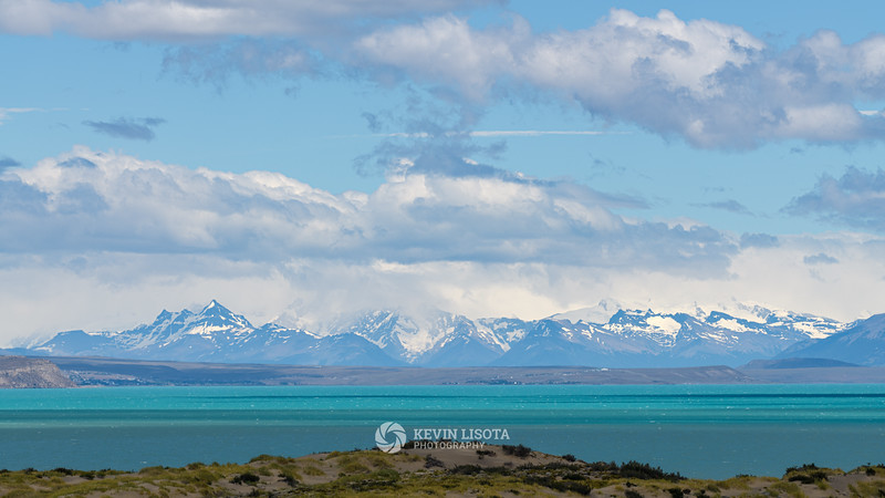 Lago Argentino and the Andes Mountains of Patagonia