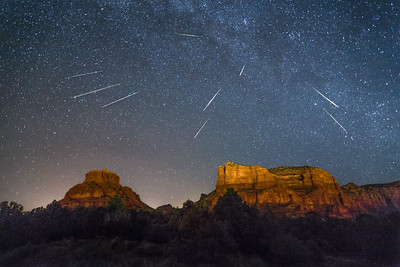 Red Rock Meteor Shower