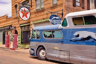 Greyhound Bus Stop