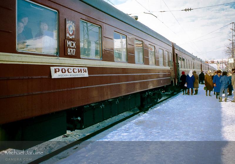 Trans-Siberian, mid-winter