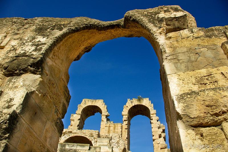 Arches at El Jem
