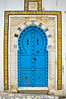 Ornate door in Sidi Bou Said