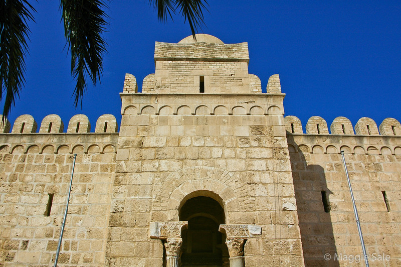 Entrance to Ribat in Sousse