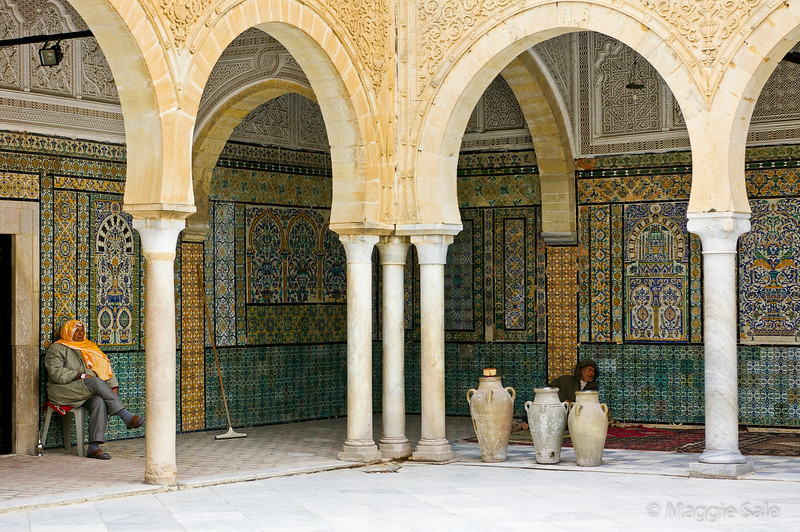 Kairouan - also the Holiest city in Tunisia