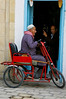 Man with tricycle in Kairouan