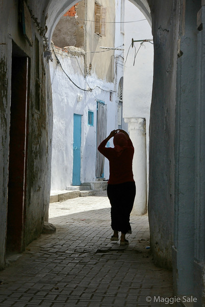 Woman in Kairouan