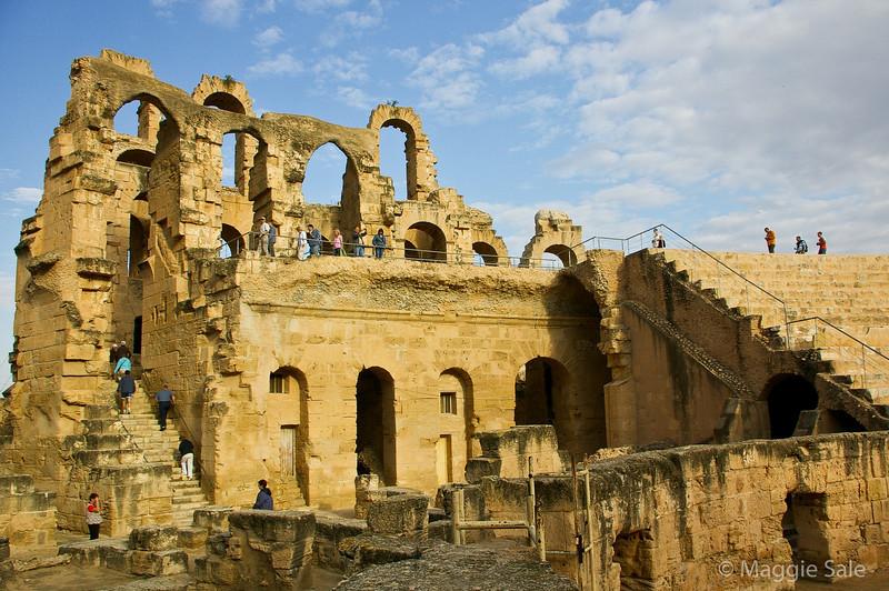 Roman amphitheatre at El Jem