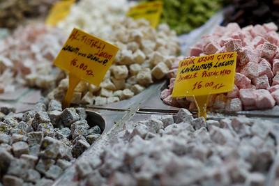 Turkish Delight, Spize Bazaar, Istanbul, Turkey