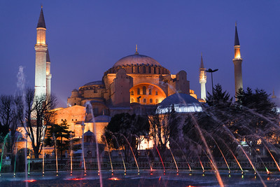 Aya Sofya (527-65 AD), Istanbul, Turkey