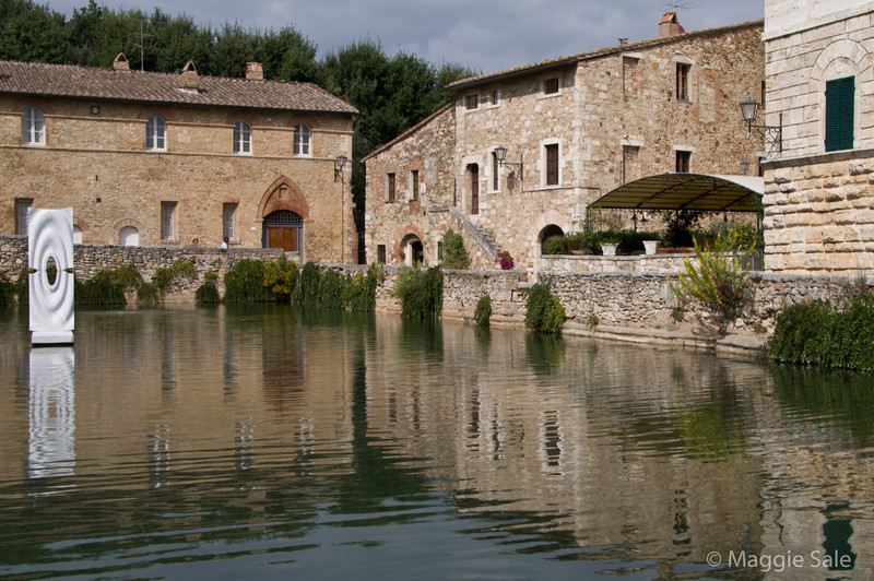 Thermal pool in Bagno Vignoni