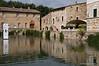 Thermal pool in Bagno Vignoni