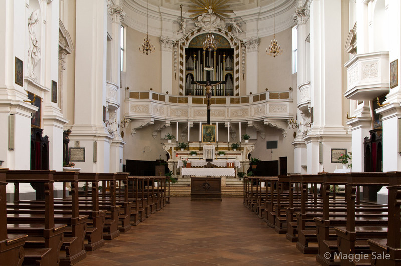 Church Interior, Montepulciano