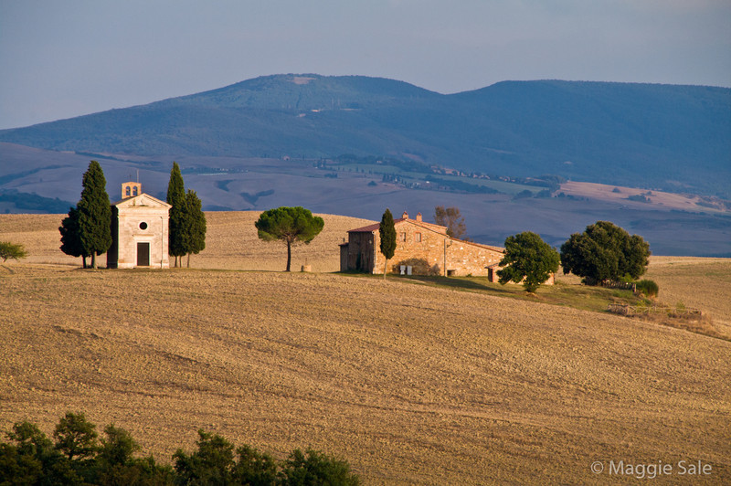 Vitaleta Chapel  near Pienza
